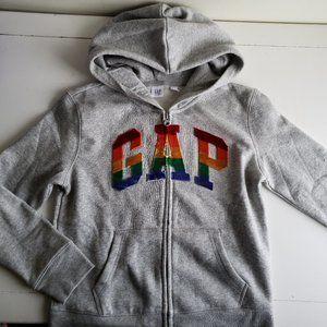 GAP Rainbow Logo Hoodie